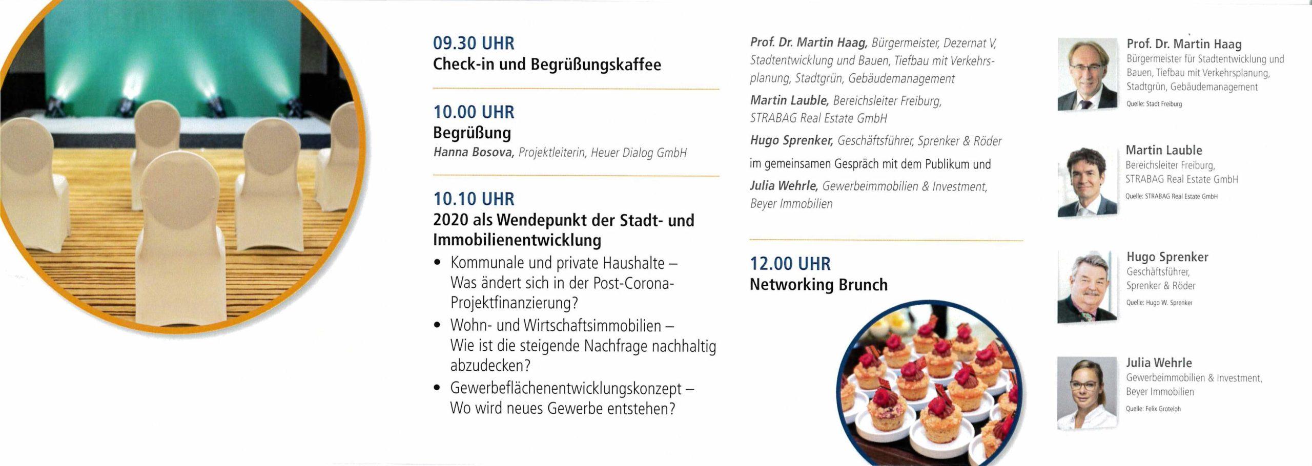 Immobilie Brunch Freiburg Flyer