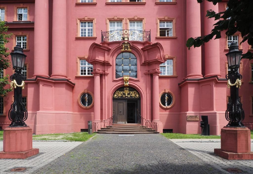 Herderhaus Eingang